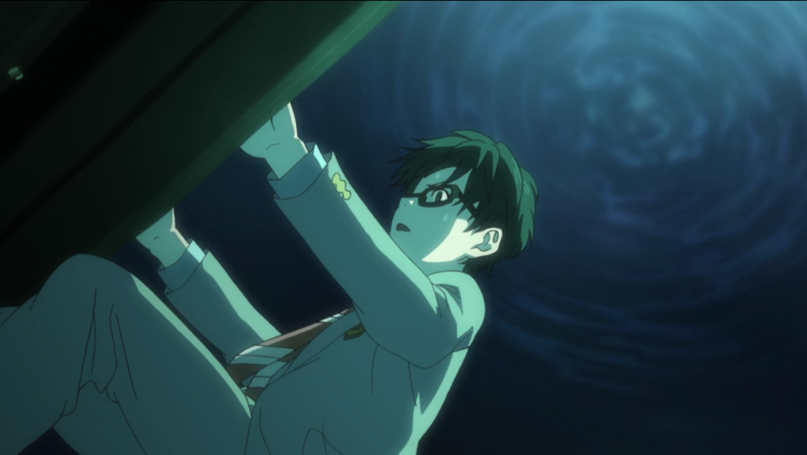Kousei Arata drowning while playing piano