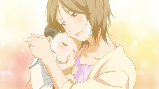 Kousei's mom nice