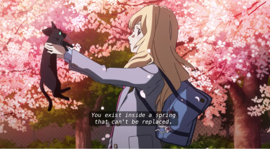 Your Lie in April sakura