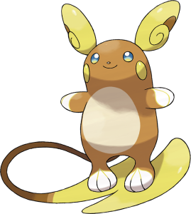 Raichu in Alola Form