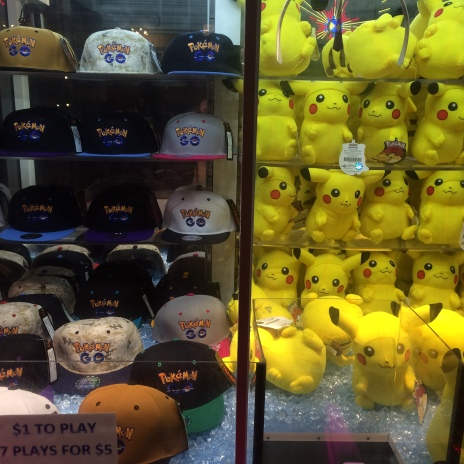 Pokemon Go merchandise