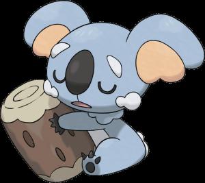 Komala Alola Pokemon