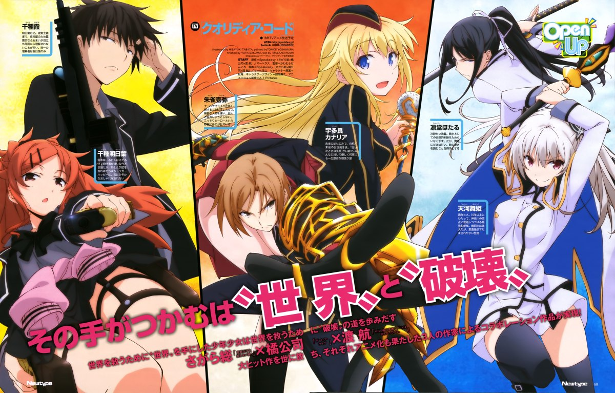 Qualidea Code Review- Tropes and Plot Holes