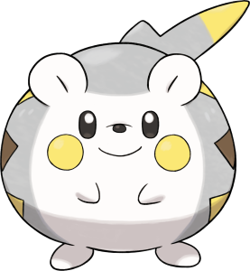 Togedemaru from Pokemon Sun