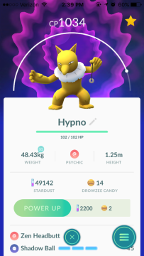 hypno-pokemon-go