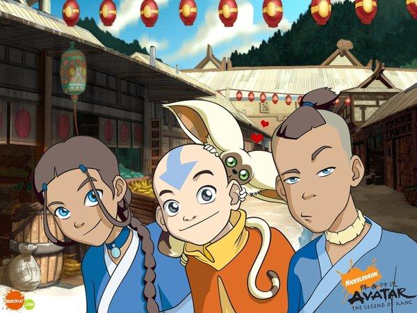 Avatar Last Airbender Main Characters