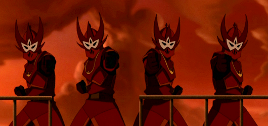 Fire Nation Soliders