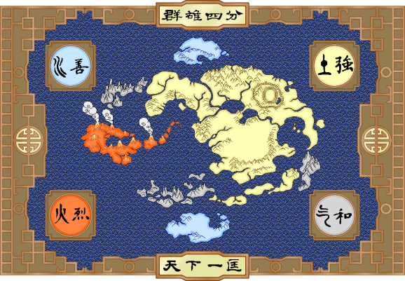 Map of Avatar World