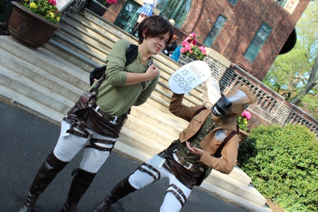 Eren and Horse Jean Cosplay