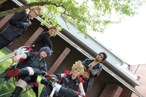 Final Fantasy XV Cosplay Whole Crew