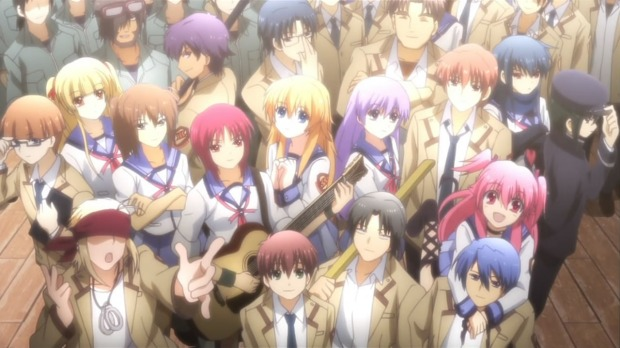 Angel Beats Whole Class