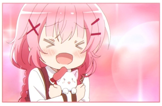 Comic girls Kaos and kitten