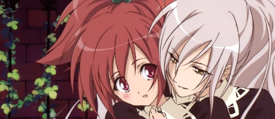 Famous yuri couple Nagisa x Shizuma Strawberry Panic