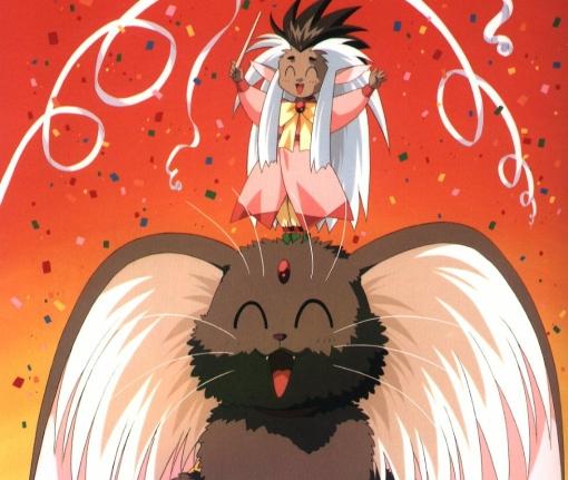 Cabbit and Human Form Ryo-Ohki