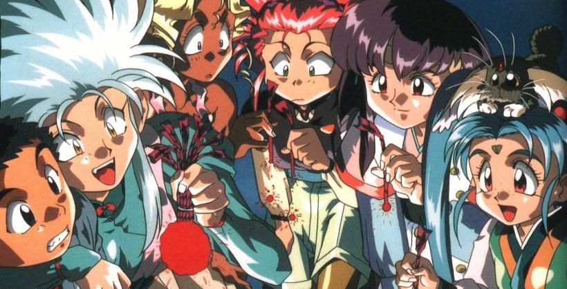 Tenchi Muyo Ryo-Ohki Main Characters