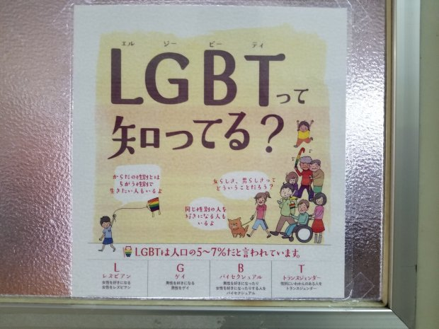 Japanese education about LGBT