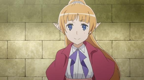 Elf from Sword Oratoria