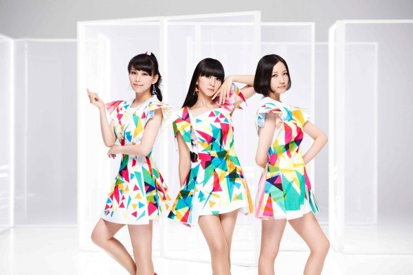 Perfume members in Level 3 outfits