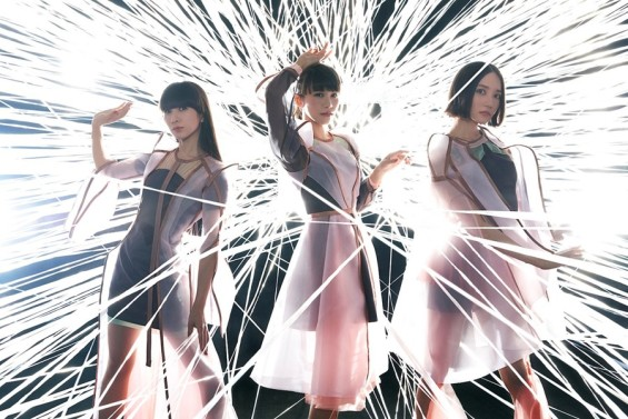 Perfume Members in Future Pop Outfits