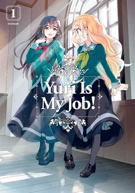 Yuri Is My Job Cover