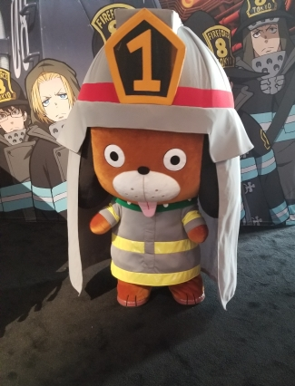 NYCC Fire Force Pup