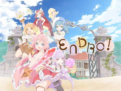 Endro Anime Promo Art