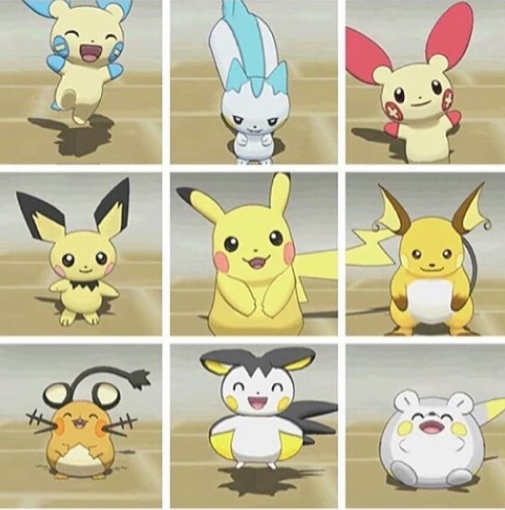 Pikachu family, Pikaclone